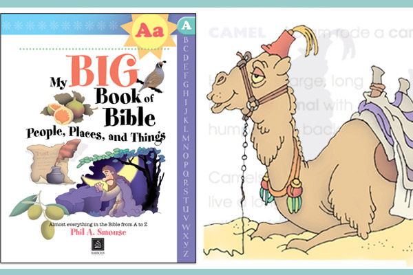 My BIG Book of Bible People, Places and Things - Phil A. Smouse